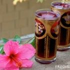 Hibiscus tea for a healthy heart