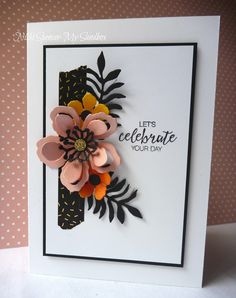 It's time to share this weeks  Just Add Ink challenge! Patrice  has given us a lovely bold palette to play with and l put ...