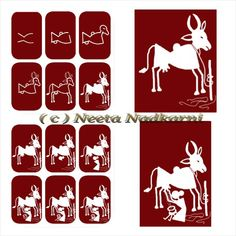 Easy warli paintings Courtesy: Easy Drawing for Kids Worli Painting, Mandala Painting, Easy Drawings For Kids, Drawing For Kids, Art Basics, Madhubani Art, Indian Folk Art, Indian Art Paintings, Art N Craft