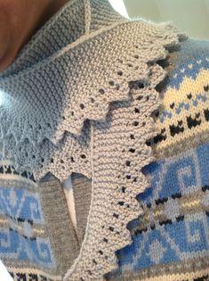 Ravelry: Zag Edged Scarf pattern by Laurel Brandt