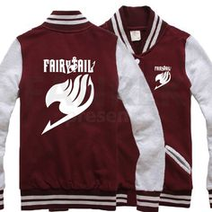 Fairy Tail Logo Baseball Shirts