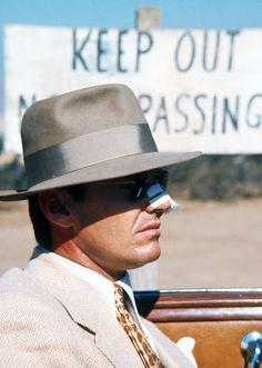 Jack Nicholson as J.J. Gittes in Roman Polanski's Chinatown (1974)