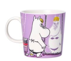 """The new 2020 edition Snorkmaiden Lilac Moomin mug by Arabia. The illustration of Snorkmaiden comes from a drawing in the 1955 comic book """"Moomin on Moomin Shop, Moomin Mugs, Norway Design, Moomin Valley, Tove Jansson, Marimekko, Gift For Lover, Beautiful World, Scandinavian Design"""