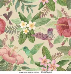 Tropical Leaf Watercolour Stock Photos, Images, & Pictures | Shutterstock