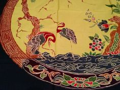 Handmade Indonesian Batik Painting  100 cotton by HotelSilver