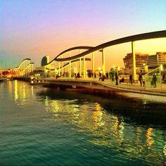 Rambla del Mar, #Barcelona