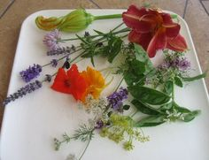 After falling out of favor for many years, cooking and garnishing with flowers is back in vogue once again. Check out this Edible Flowers Chart.