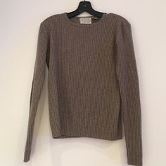 TSE cashmere crewneck TSE cashmere crewneck. Good condition. One small hole  see picture TSE Sweaters Crew & Scoop Necks