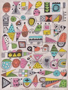 flora chang   Happy Doodle Land