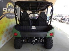 Used 2012 Kawasaki Teryx4 750 4x4 ATVs For Sale in Arkansas. 2012 Kawasaki Teryx4 750 4x4, 2012 Kawasaki Teryx4 750 FI 4x4 All the Performance, Style, Function and Fun You Expect from a Teryx 750 4x4 with Room for Four! Twice as much of a good thing is always better, right? Absolutely. So you knew Kawasaki would eventually double the Teryx s substantial fun and function factor by adding two seats enough for more friends, extra help or the whole family. The result is the all-new 2012 Teryx4…