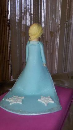Elsa Frozen fondant