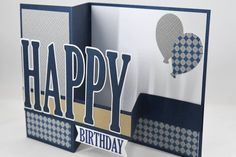 Items similar to Men Vintage Masculine Birthday Card on Etsy Masculine Birthday Cards, Bday Cards, Birthday Cards For Men, Handmade Birthday Cards, Masculine Cards, Cards For Men Handmade, Birthday Images, Birthday Quotes, Fun Fold Cards