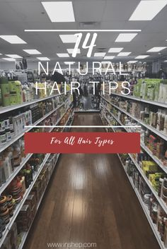 14 Natural Hair Tips For Every Natural Hair Type