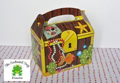6 Treasure Chest Pirate Party Favor Box  by EnchantedFrogEvents, $5.50
