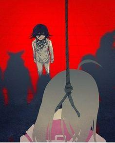 LOOKKKKKK he is hurt too!!!! Oh my poor kokichi.