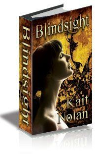 Author, Kait Nolan is stuck in an office all day, after hours, she uses her powers for good, creating escapist fiction. The work of this Mississippi native is packed with action, romance, and the kinds of imaginative paranormal creatures you'd want to sweep you off your feet…or eat your boss. Download Blindsight free here http://bit.ly/hlkRLr. Kait has 2 excerpts that you might also check out: Devil's Eye and  Forsaken By Shadow. Find those titles by searching using the authors full name.