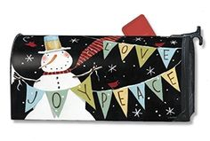 MailWraps Snowman Celebration Mailbox Cover 06352 by MailWraps >  Part of Magnet Works collection of matching flags, mailbox covers, and yard signs;Fits standard size mailboxes 6Ã'½x19 Meets US Postal Requirements;Attaches to metal mailboxes with magne... Check more at http://farmgardensuperstore.com/product/mailwraps-snowman-celebration-mailbox-cover-06352-by-mailwraps/