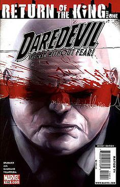 Daredevil cover - vol 2 number 116 - Return of the King (comics) - Wikipedia, the free encyclopedia