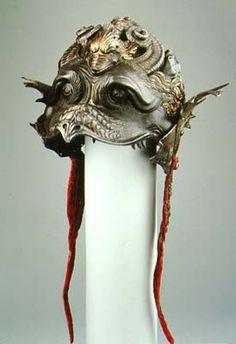 Filippo Negroli (armourer).   Made for Burgonet of Guidobaldo II  della Rovere, Duke of Urbino  Milan, ca. 1532-35