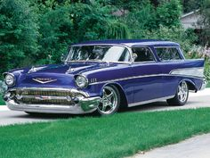 1957 Chevy Nomad   they knew how to make 'em in '57....
