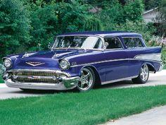 1957 Chevrolet Nomad.