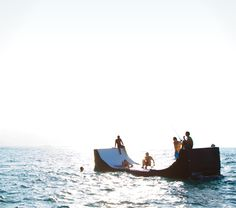 my country estate will be located near the sea so i will definitely need one of these floating ramp device things
