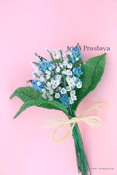 Forget-me-nots Flower Arrangement Reception Centerpieces