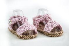 Instrucciones para hacer sandalias de crochet para bebé > Minimoda.es
