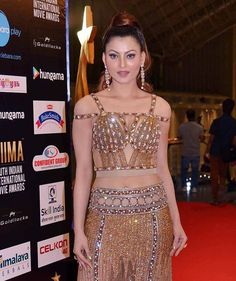 Urvashi Rautela at SIIMA 2016 in Singapore. #Bollywood #Fashion #Style #Beauty #Hot #Sexy