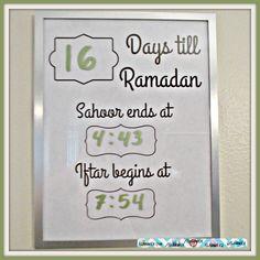 printable pre-Ramadan reminder on islamwich.com