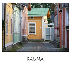 Rauma, a photo from Western Finland, South White Window Trim, Beautiful Homes, Beautiful Places, Wooden Architecture, Western Coast, Old Town, Old Houses, My House, Westerns