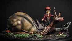 The Neverending Story Teeny Weeny Racing Snail by yotaro-sculpts on DeviantArt