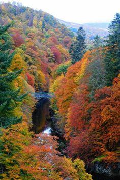 Pitlochry, Scotland Top 10 Best October Travel Destinations