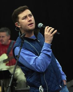 Scotty McCreery Photos Photos - Singer/Songwriter Scotty McCreery rehearsals for 1 Night. 1 Place. 1 Time: A Heroes & Friends Tribute to Randy Travis on February 7, 2017 at SoundCheck in Nashville, Tennessee. - 1 Night. 1 Place. 1 Time: A Heroes & Friends Tribute to Randy Travis - Rehearsals