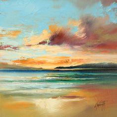deviantART Shop Framed Wall Art Prints & Canvas | Traditional Art | Paintings | Tiree Beach Study by artist =NaismithArt