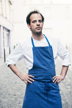 The chef behind Frenchie, Grégory Marchand. He trained at the Grammercy Tavern in NYC and is one of the hottest chefs in Paris!