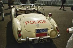 1959 MGA Roadster to police specification