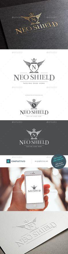 Neo Shield Logo Template #design #logo Download: http://graphicriver.net/item/neo-shield-logo-template/11580329?ref=ksioks