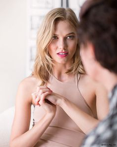Karlie on Beauty / Garance Doré