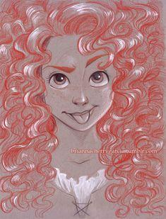 Disney - paper sketches