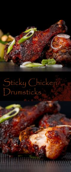 Sticky Chicken Drumsticks : krumpli