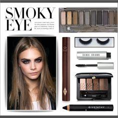 Smoldering: Smoky Eye by lgb321 on Polyvore featuring polyvore, beauty, Urban Decay, Guerlain, Charlotte Tilbury, BBrowBar, Givenchy, Bobbi Brown Cosmetics, Beauty and smokyeye