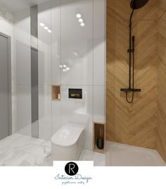 Modern Bathroom Decor, Bathroom Design Small, Bathroom Interior, Toilet Room, New Homes, Bathtub, Layout, Interior Design, House