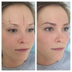 233 Likes 18 Comments Brows Microblading ( Mircoblading Eyebrows, Eyebrows Goals, Blonde Eyebrows, Permanent Makeup Eyebrows, Eyebrow Makeup, Hair Makeup, Blonde Microblading, Makeup Tattoos, Eyebrow Tattoo
