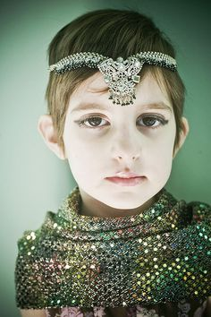 """this is how we do dress up at my house. she's homeschooled. this was """"egyptian princess"""" day :)"""