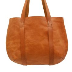 03b352fc8f16 Red Oker Delight Tote – Tan from The Love of Leather - R1