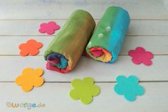 Didymos Babytragetuch Regenbogen - sind diese Tücher nicht der Hammer? Herrlich bunte Farben verbreiten automatisch gute Laune und verbreiten viel Freude beim Tragen.   Das Tragetuch Lisca Regenbogen ist wie alle Lisca Tücher kuschelig...