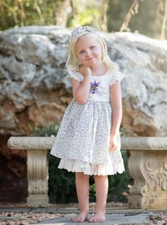 """Eloise"" Dress: Be Girl Clothing, girl clothing, baby clothing, childrens boutique, girl dress, boutique dress, boutique fashion"