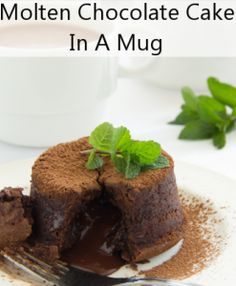Check out Sunny Anderson's Molten Chocolate Surprise Cake Recipe – in a mug!