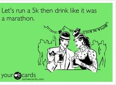Who wants to train and run the shamrock run this year?